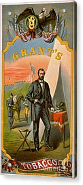 Retro Tobacco Label 1874 C Acrylic Print by Padre Art