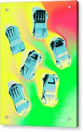 Retroactive Racing Acrylic Print