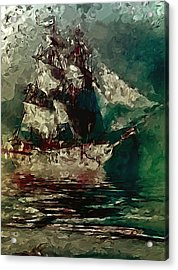 Return Of The Flying Dutchman Acrylic Print
