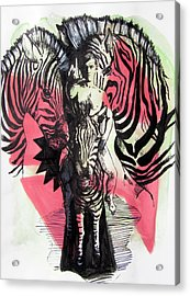 Return Of Zebra Boy Acrylic Print