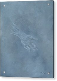 Acrylic Print featuring the painting Return To Dust by Judith Rhue