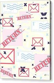 Return To Sender Acrylic Print