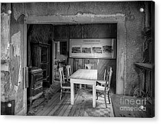 Acrylic Print featuring the photograph Returning To The Past by Sandra Bronstein