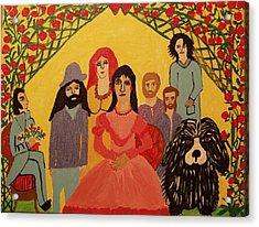 Reunion Acrylic Print by Betty J Roberts