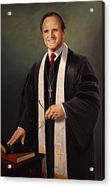 Rev John Miles Acrylic Print
