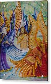 Revelation Five Acrylic Print by Rick Ahlvers