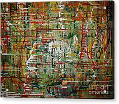 Acrylic Print featuring the painting Revelation by Jacqueline Athmann