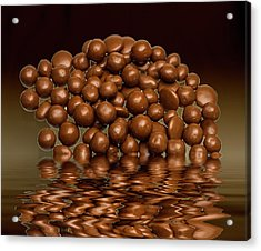 Acrylic Print featuring the photograph Revels Chocolate Sweets by David French