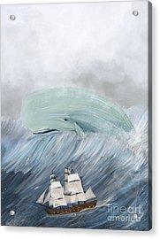 Revenge Of The Whale Acrylic Print