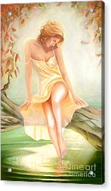 Acrylic Print featuring the painting Reverie by Michael Rock