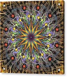 Reverse Cosmosis Acrylic Print