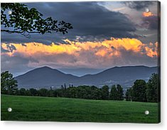 Reverse Sunset Acrylic Print by Tim Kirchoff