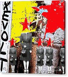 Revolt Acrylic Print by Gary Everson