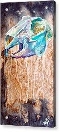 Revolution Jack Rabbit Acrylic Print by Christy  Freeman