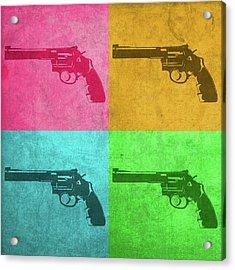 Revolver Vintage Pop Art Acrylic Print