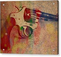 Revolver Watercolor Art Number 2 Acrylic Print