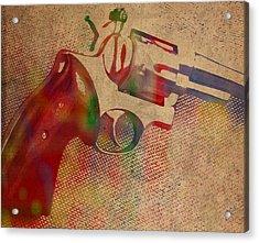 Revolver Watercolor Art Number 3 Acrylic Print