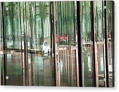 Revolving Doors Acrylic Print
