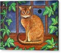 Rex The Cat Acrylic Print