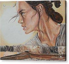 Rey Acrylic Print
