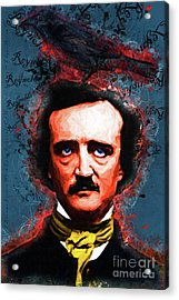 Reynolds I Became Insane With Long Intervals Of Horrible Sanity Edgar Allan Poe 20161102 Text Acrylic Print by Wingsdomain Art and Photography