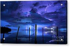 Blue Nights Acrylic Print