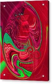 Rhapsody In Red Acrylic Print
