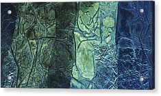 Rhapsody Of Colors 43 Acrylic Print by Elisabeth Witte