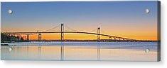 Rhode Island Newport Bridge Acrylic Print by Juergen Roth