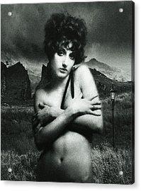 Acrylic Print featuring the photograph Rhyd Ddu Madonna by Richard Wiggins