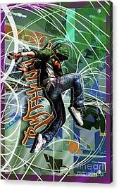 Rhythm Acrylic Print by Nicole Street