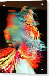Rhythm Of Dance Acrylic Print