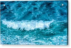 Acrylic Print featuring the photograph Rhythm Of Waves by Marion McCristall