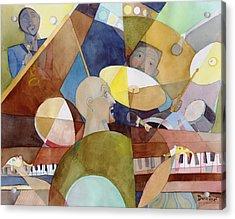 Rhythm Section Acrylic Print