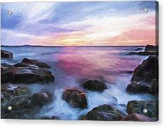 Rhythmic Dawn II Acrylic Print