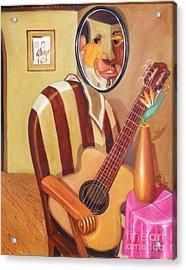 Rhythmic Echoes Acrylic Print by David G Wilson