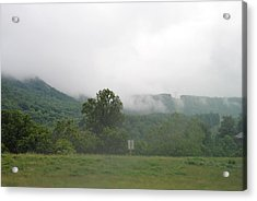 Riasing Mist Acrylic Print by Christopher Rohleder
