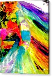 Ribbon Dancer Acrylic Print