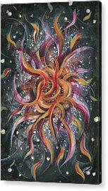 Spasmodic Bloom Acrylic Print by Joe Burgess
