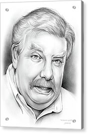 Richard Griffiths Acrylic Print by Greg Joens