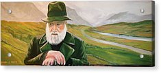 Richard Harris In The Film Called The Field Acrylic Print by Cathal O malley