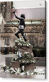 Richard The Third Statue Acrylic Print