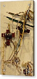 Richard's Crosses Acrylic Print by Sarah Loft