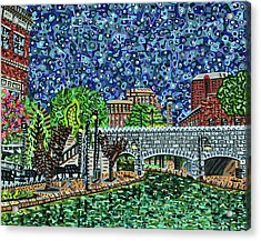 Richmond Canal Walk Acrylic Print by Micah Mullen