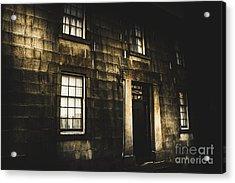 Richmond Gaol Facade Acrylic Print