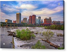 Richmond Skyline Acrylic Print