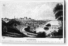Richmond, Virginia, 1856 Acrylic Print by Granger