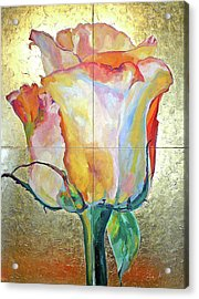 Acrylic Print featuring the painting Richness by Eva Konya