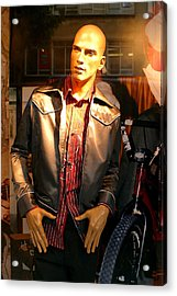 Rick Acrylic Print by Jez C Self