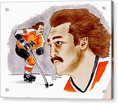 Rick Macleish - Color Acrylic Print by Chris  DelVecchio